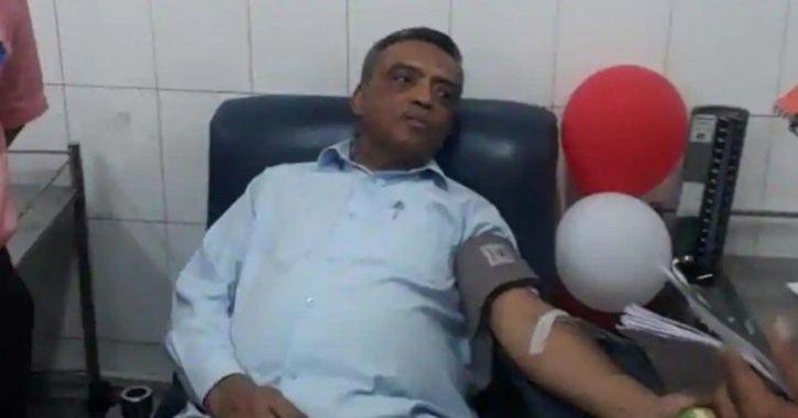 bureaucrat donates blood every three months