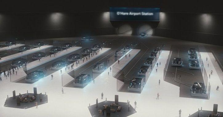 Chicago Express Loop, Hyperloop Transportation