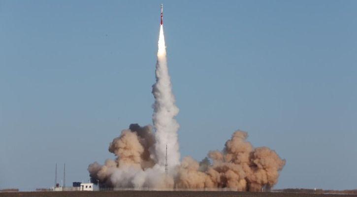 China  satellite launch