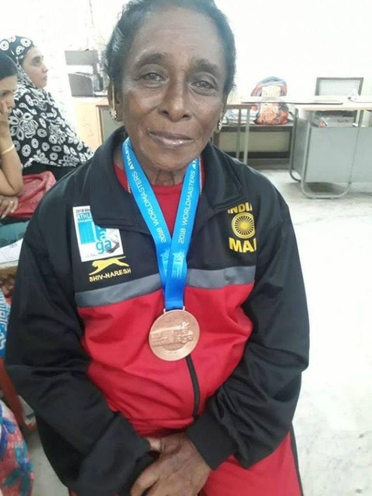 Daisy Victor, Veteran Athlete, Discus, shot put