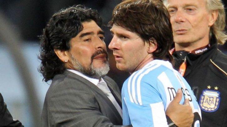 Diego Maradona slams Lionel Messi