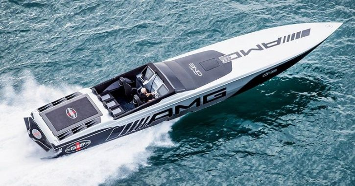 Electric Vehicles, Electric Boat, Cigarette AMG Electric Drive, Mercedes-AMG, Cigarette Racing, Merc