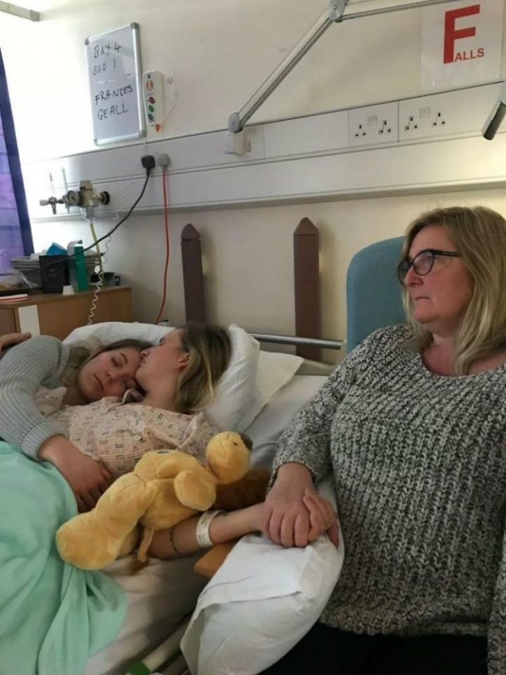 Encephalitis, bride to be forgets everything, bride loses memory
