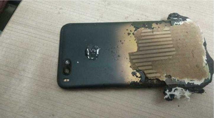 exploding Xiaomi Mi A1