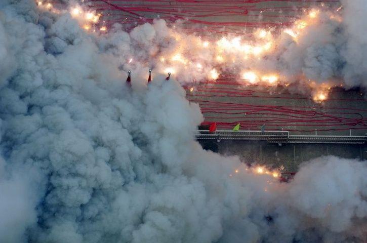 firecrackers, crop burning