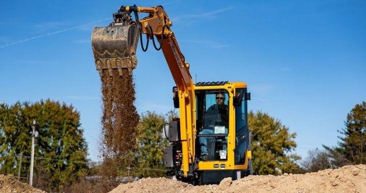 Heavy Machinery, All-Electric Excavator, Hyundai Construction Equipment, Cummins, Electric Vehicles,
