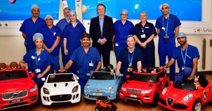 Hospital, Electric Cars, Miniature Electric Cars, Children