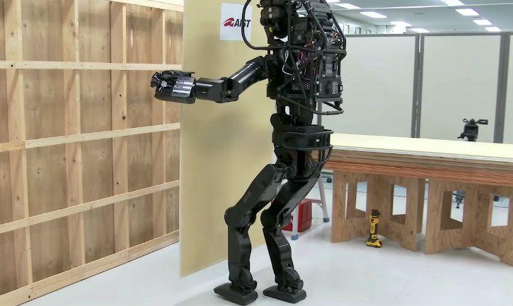 HRP-5P Japan AIST humanoid construction robot