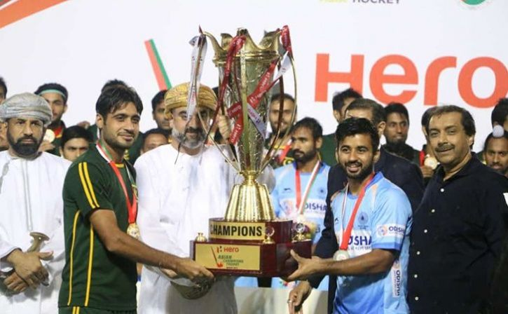 India And Pakistan Declared Joint Winners Of Asian Champions Trophy Hockey