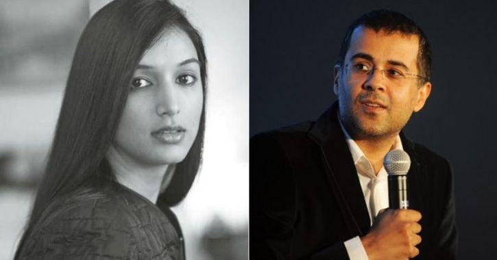 Ira Trivedi and Chetan Bhagat