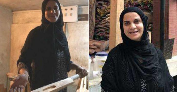 Kashmir Batwoman Builds An Innings