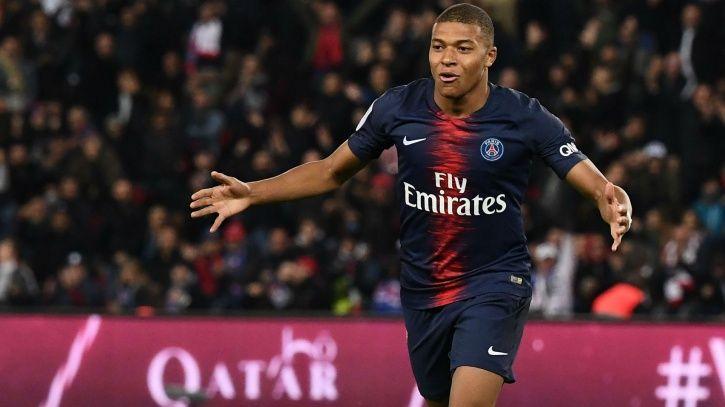 Kylian Mbappe scored 4 goals in 13 minutes