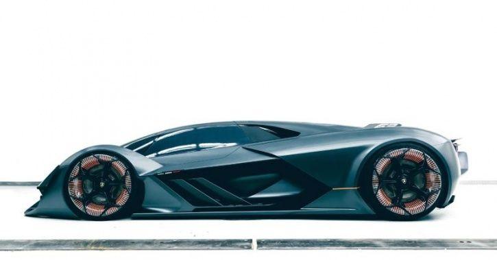 Lamborghini Terzo Millennio, Electric Supercar