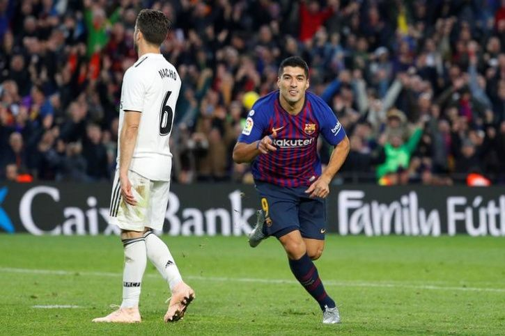 Luis Suarez Is Really Pumped At Beating Real Madrid Without Lionel Messi