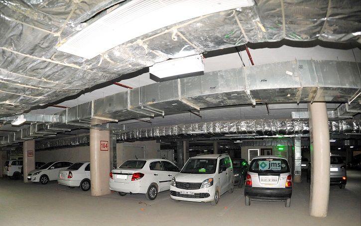 Multi Level Car Parking, Delhi, Traffic Congestion Solution