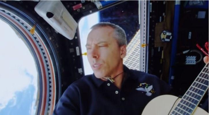 NASA astronaut Andrew Feustel