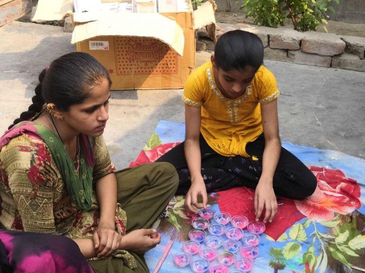 Pakistani Hindu Refugee Children