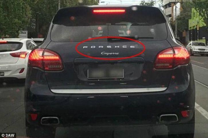 Porsche Cayenne, Misspelling, Porsche Cayenne mistake, Porsche Cayenne misspelt