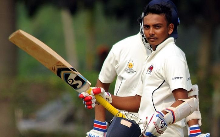 Prithvi Shaw Will Make His Test Debut Vs West Indies