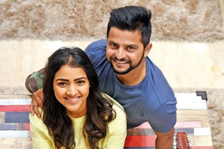 priyanka chaudhary and Suresh Raina