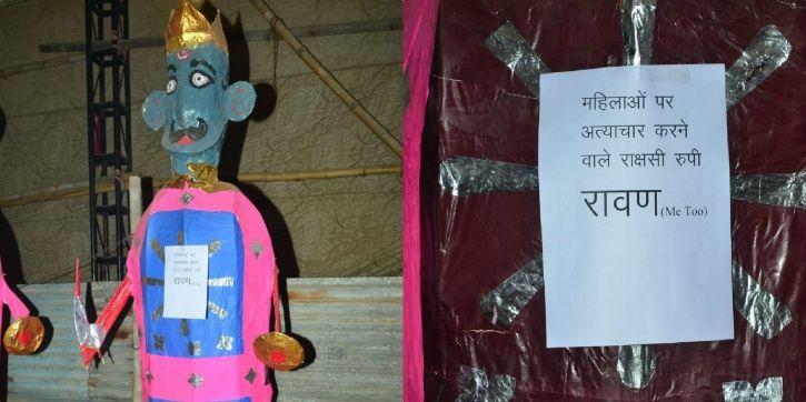 Ravana, Me Too, Red Fort, Dusshera 2018, delhi, Nav Shri Dharmil Lila Committee
