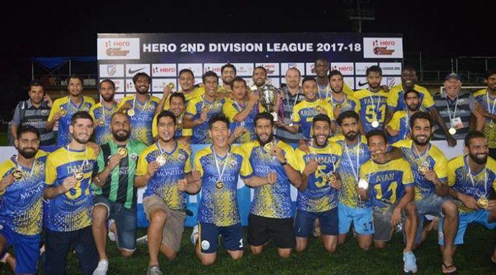 Real Kashmir football club David Robertson