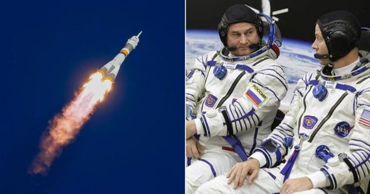 Rocket Carrying Space Station Crew Fails In Mid-Air