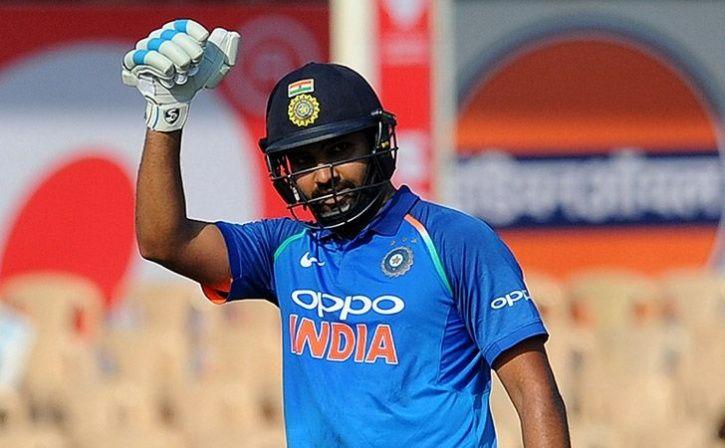 rohit sharma urges fan to chant india india