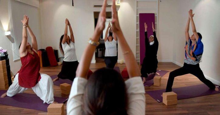 Saudi Arabia, Yoga, practitioners, muslim clerics, Nouf Marwaai, a Padma Shri winner