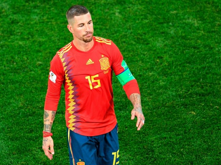 Sergio Ramos is known to play rough