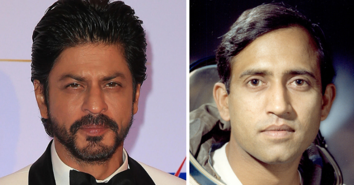 Shah Rukh To Star In Film Based On Astronaut Rakesh Sharma, The First Indian To Go To Space