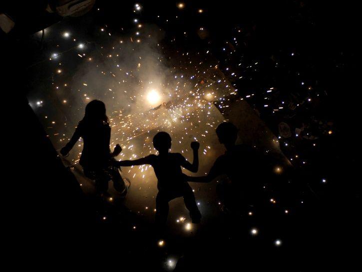 Sivaganga district, Tamil Nadu, celebrations, Diwali, crackers, migratory birds, village