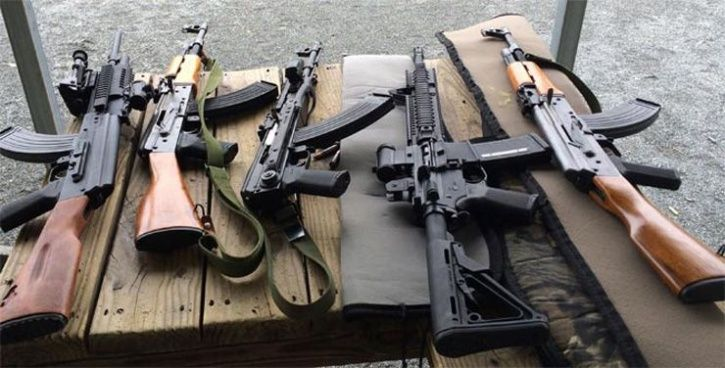 Stolen AK-47