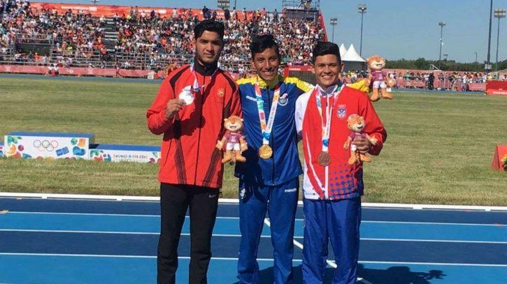 Suraj Panwar won silver in Youth Olympics