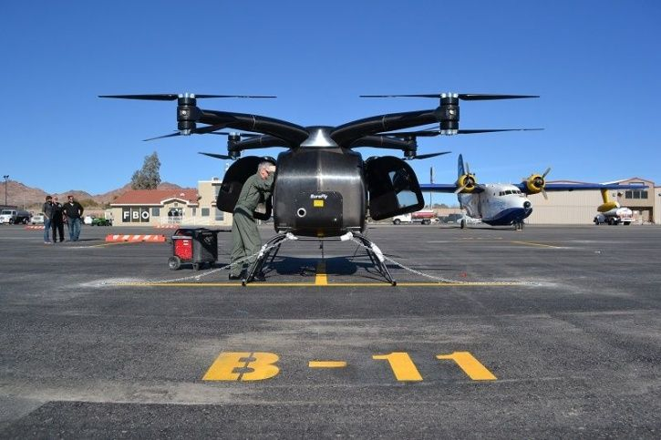 SureFly, Helicopter, Drone, eVTOL, Electric Vertical Takeoff and Landing, Octocopter, Aviation News,