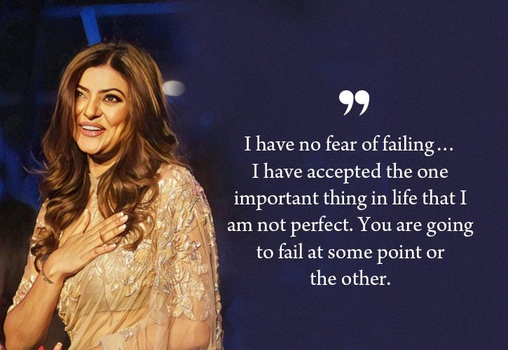 Sushmita Sen Quotes That Will Help You Deal With Relationships & Heartbreaks