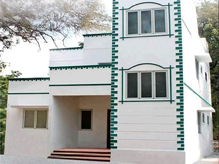 Tamil Nadu Government Built A House Using Reinforced Thermocol