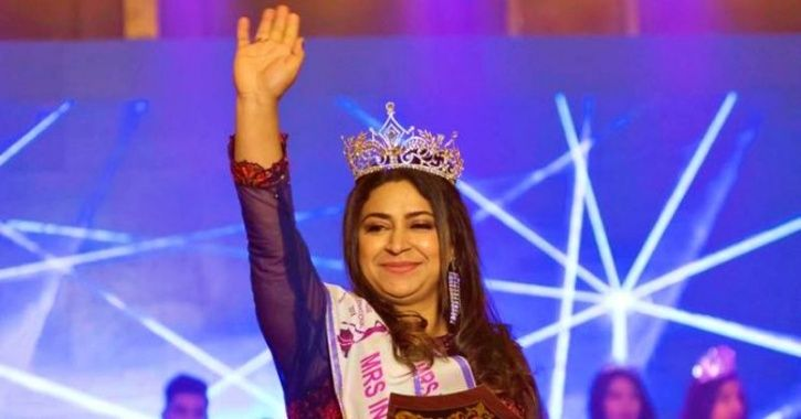This Domestic Abuse Survivor From Kashmir Wins 'Mrs India International- 2018 Malaysia' Title