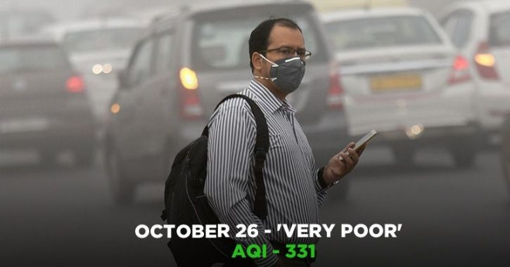 This October, Delhiites Breathed Worse Air Of The Season, Diwali To Add More Toxicity