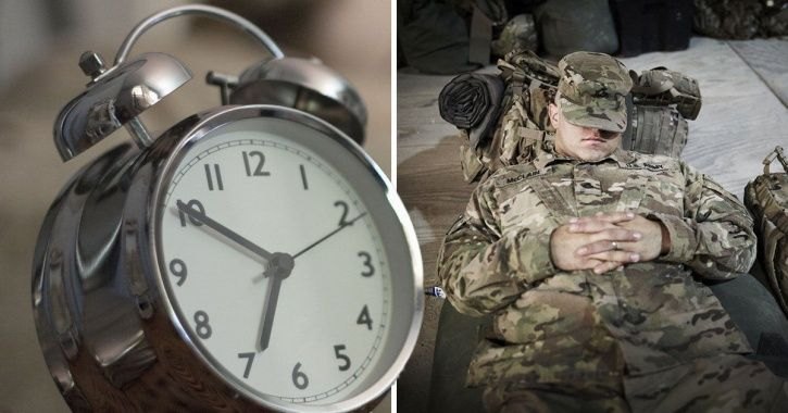 This Two-Phase Secret Military Trick Can Make You Fall Asleep, Anywhere, Anytime In Two Minutes