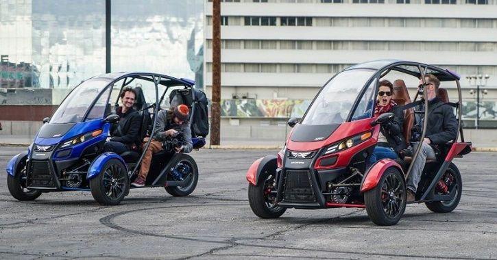 Three-Wheeled Electric Vehicle, Fun Utility Vehicle