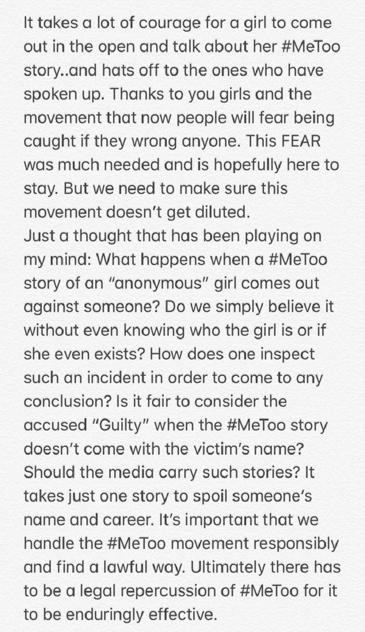 To Ensure #MeToo Isn't Misused, Kriti Sanon Urges Women To Reveal Their Identity Or File A Case