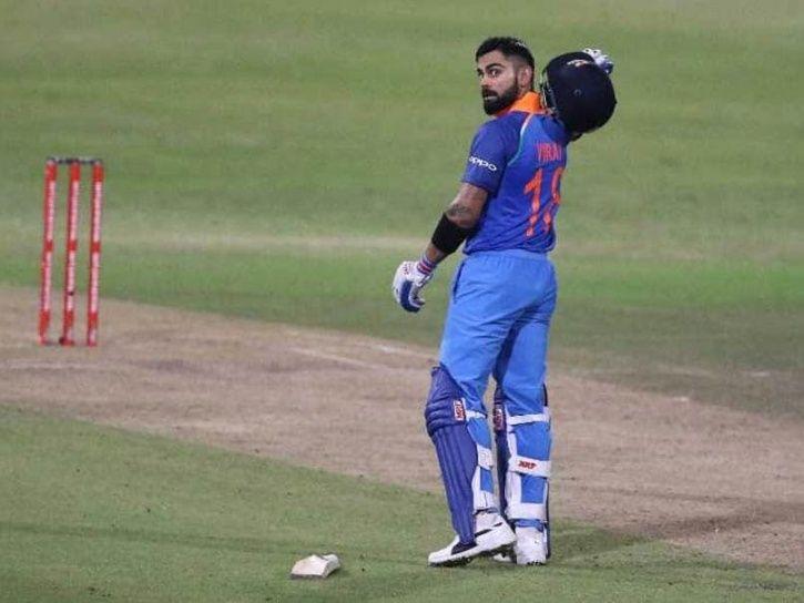 Virat Kohli is the fastest to 10,000 ODI Runs