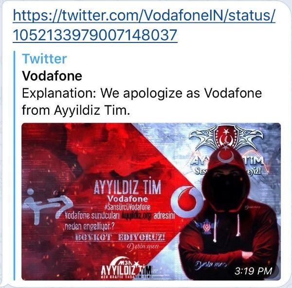 Vodafone hack