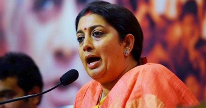 'Would You Take Blood-Soaked Pads To Your Friends'?': Irani's Remark On Sabarimala Draws Ire