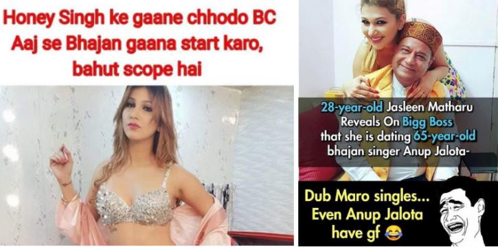 9 Jaw-Dropping Facts About 65-YO Anup Jalota & His 28-YO Girlfriend Jasleen Matharu That'll Make You