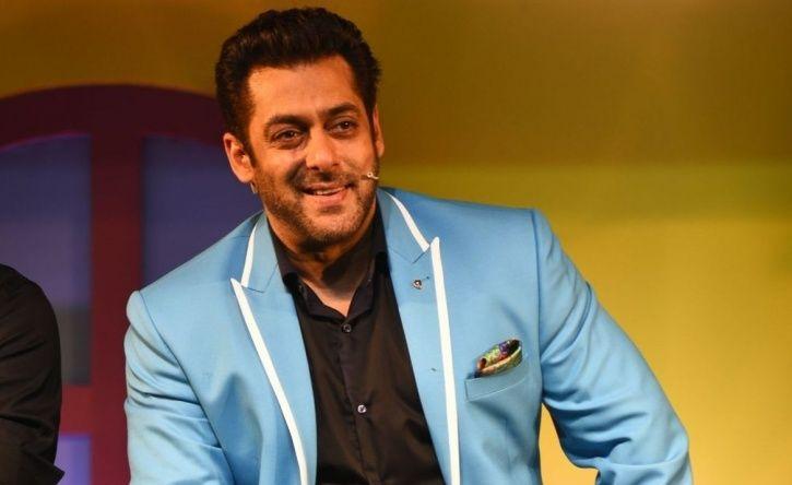 A photo of Salman Khan from Bigg Boss 12 house.