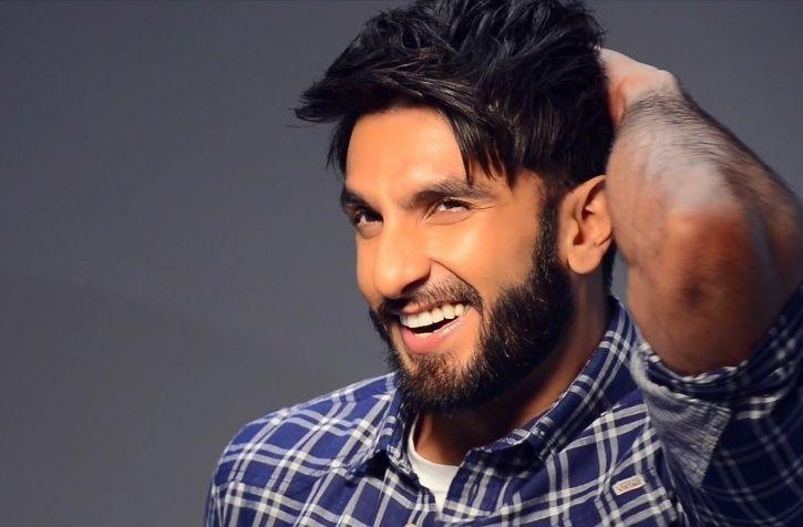 A picture of  Ranveer Singh.