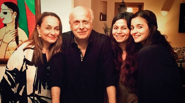 A picture of Bhatt family.