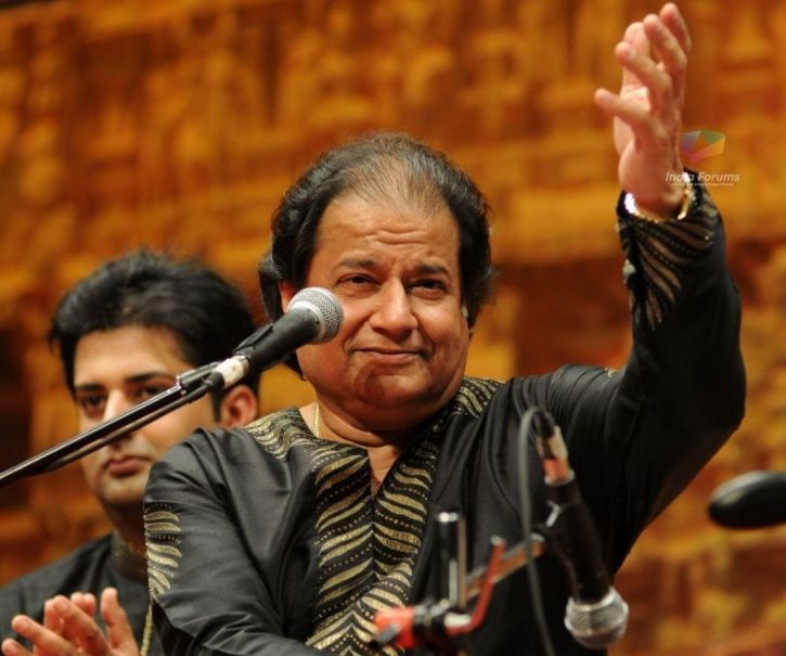 A picture of Bigg Boss 12 contestant Anup Jalota.